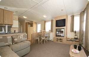 Cypress Supreme Interior | North Wales Caravans
