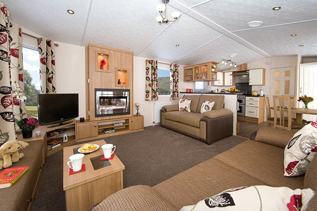 Ultimate Luxury with the Europa Mulberry Static Caravan Holiday Home
