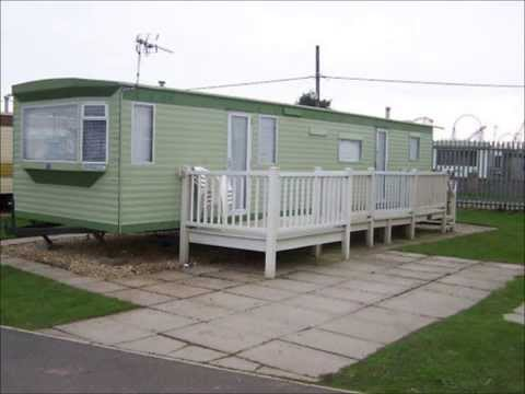 Green or White Static Caravans | North Wales Caravans