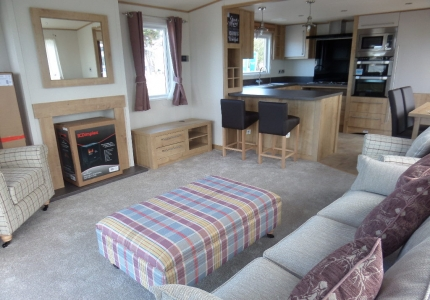 Luxury Static Caravan Review   Abi Westwood   North Wales Caravans